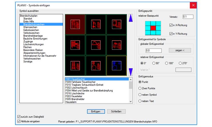 Die AutoCAD Applikation PLANX! - Die Funktionen