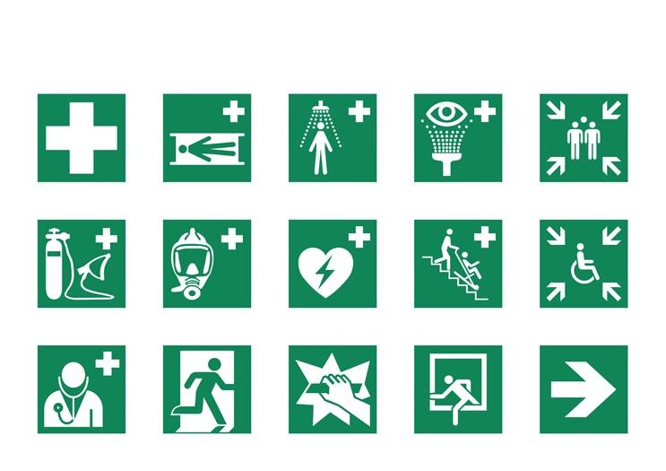 Symbolbibliothek - Erste Hilfe