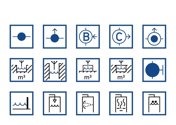 Symbolbibliothek - Löscheinrichtungen